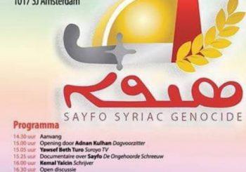 Lezing Syriac Genocide: HTIB Turkse Arbeidersvereniging Amsterdam
