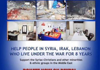 Steun de mensen in Syrië, Irak & Libanon na 8 jaar oorlog!